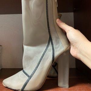 9cc2ac373430d Yeezy Shoes - Yeezy Season 3 bone mesh bootie